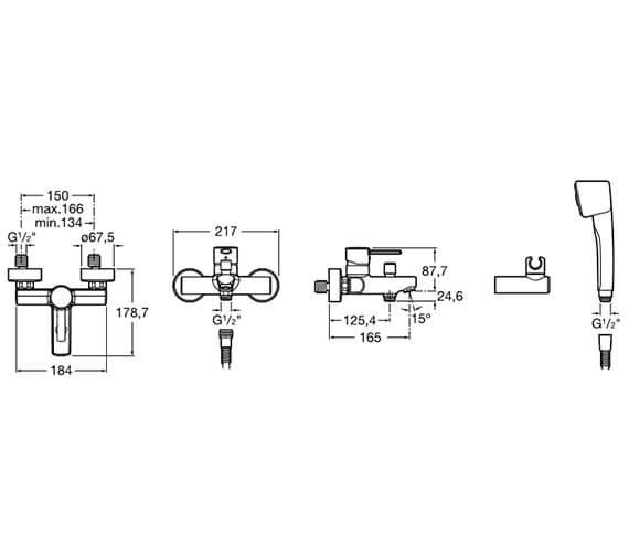 Technical drawing QS-V33624 / 5A0160C00