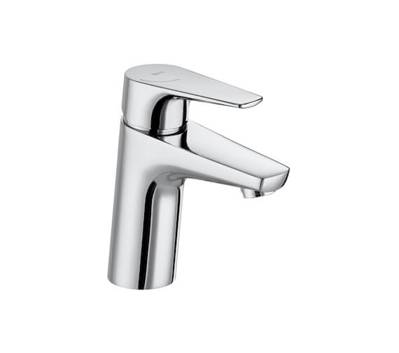 Roca Atlas Basin Mixer Tap With Smooth Body