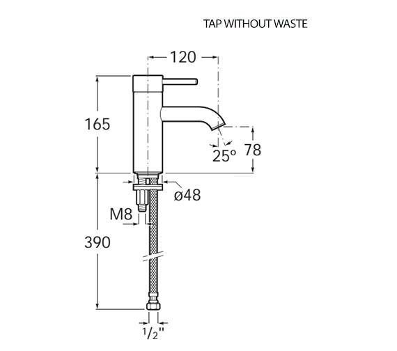 Technical drawing QS-V92002 / 5A3B11C0R
