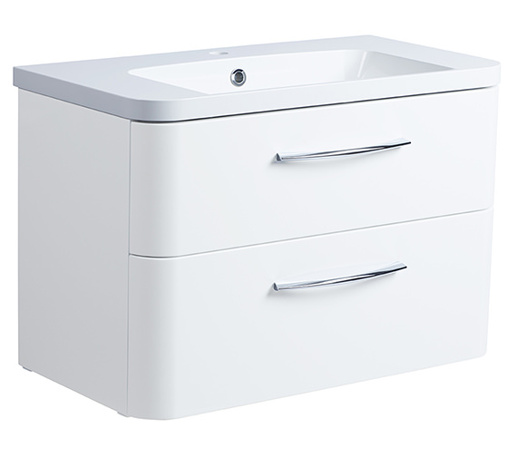 Roper Rhodes System 800mm Wall Mounted 2 Drawer Unit