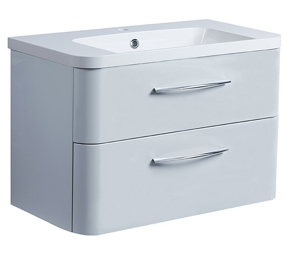 Additional image of Roper Rhodes System 800mm Wall Mounted 2 Drawer Unit