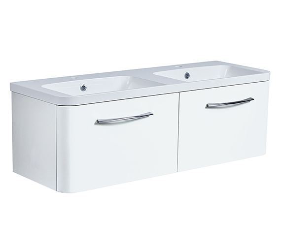 Roper Rhodes System 1200mm 2 Drawers Unit With Double Basin