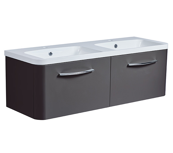 Additional image of Roper Rhodes System 1200mm 2 Drawers Unit With Double Basin