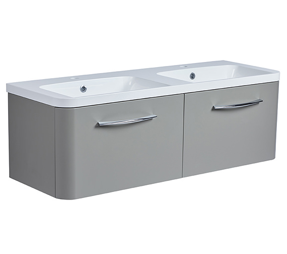 Alternate image of Roper Rhodes System 1200mm 2 Drawers Unit With Double Basin