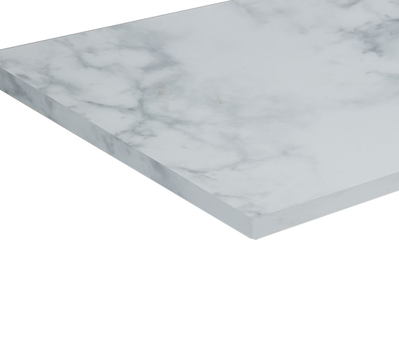 Additional image of Roper Rhodes Hampton 1280mm Arctic White Strata Worktop