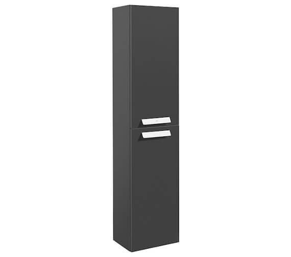 Roca Debba 345 x 1500mm Double Door Column Unit White