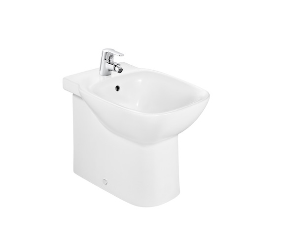 Roca Debba Floorstanding Back-To-Wall Bidet With 1 Taphole