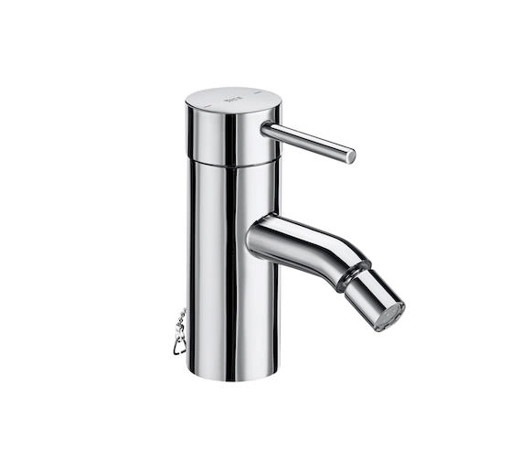 Roca Lanta Monobloc Bidet Mixer Tap With Chain Connector