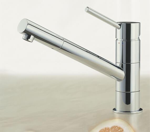 Tre Mercati Anzio Lever Mono Sink Mixer Tap