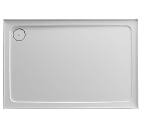Just Trays JTFusion Rectangular Flat Top Shower Tray With Waste