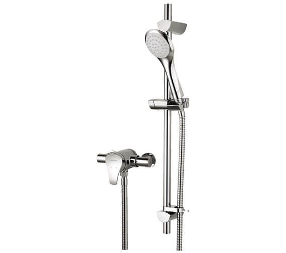 Bristan Capri Chrome Shower Valve With Adjustable Riser