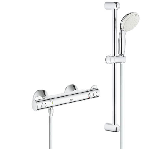 Grohe Grohtherm 800 Thermostatic Shower Mixer Valve with Kit