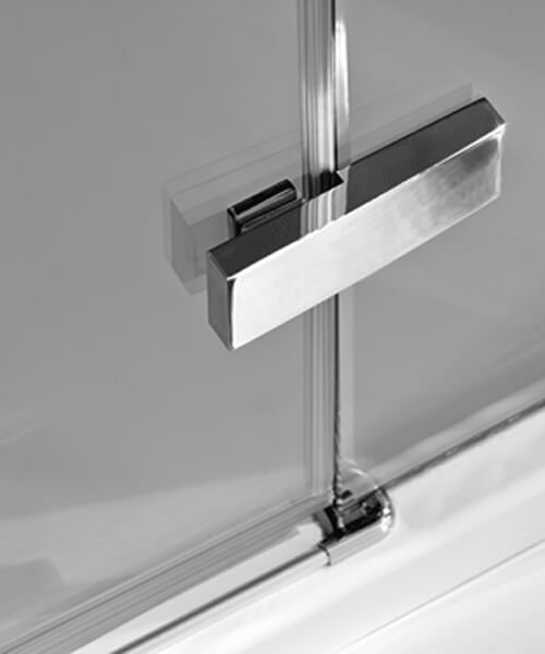 Additional image of Merlyn Ionic Essence Hinge Door And Inline Panel 2000mm Height