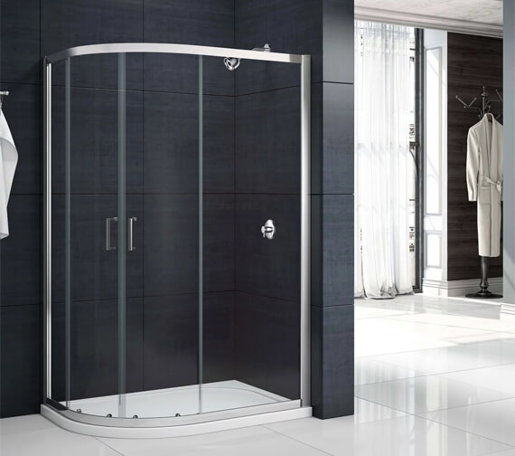 Merlyn Mbox 2 Door Offset Quadrant 1900mm Height Shower Enclosure