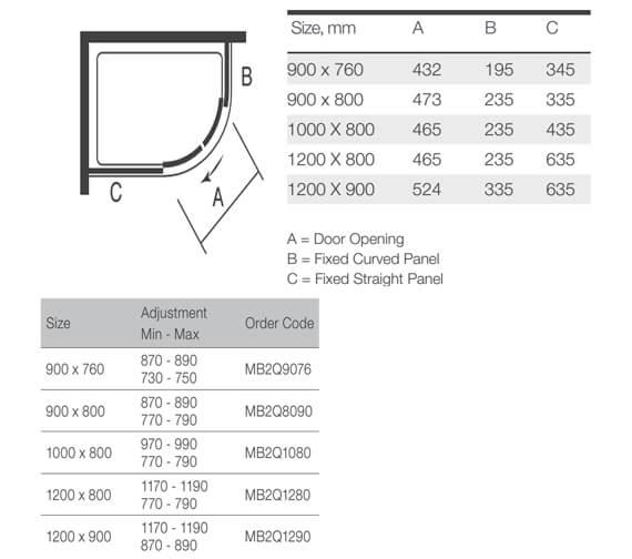 Technical drawing QS-V9354 / MB2Q9076