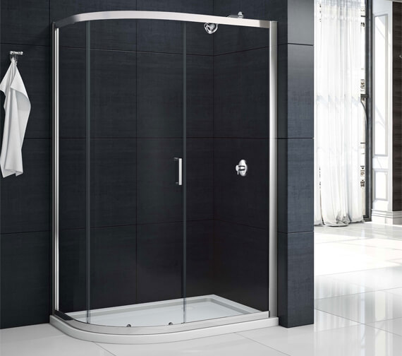 Merlyn Mbox 1 Door Offset Quadrant 1900mm Height Shower Enclosure
