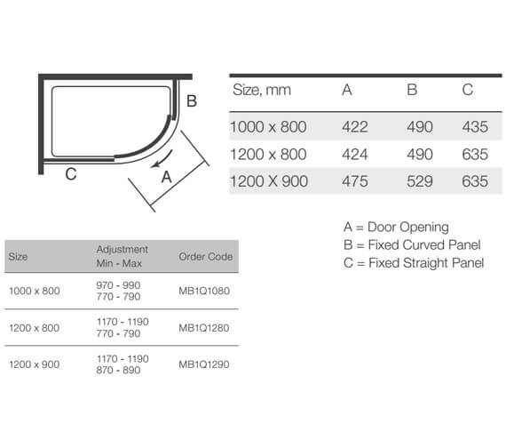 Technical drawing QS-V9356 / MB1Q1080