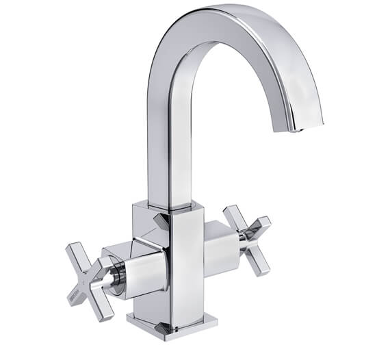 Bristan Casino Basin Mixer Tap With Clicker Waste