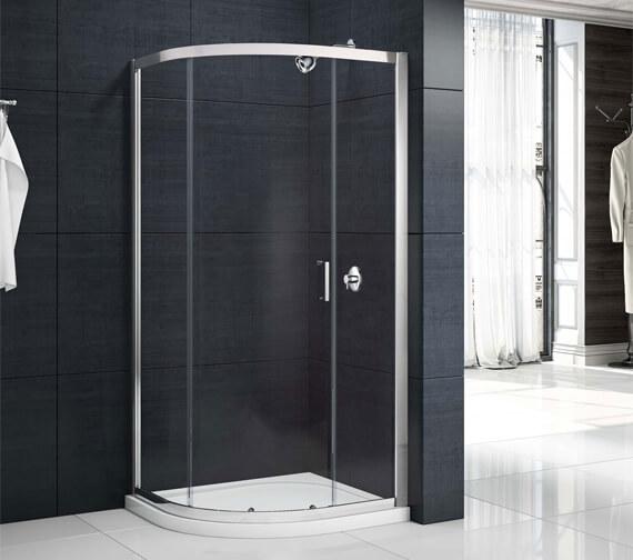 Merlyn Mbox 1 Door Quadrant 1900mm Height Shower Enclosure