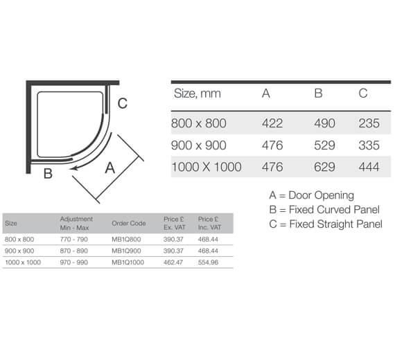 Technical drawing QS-V9355 / MB1Q800
