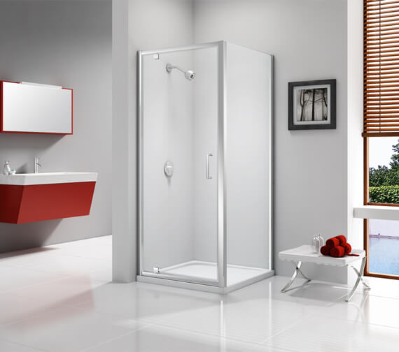 Merlyn Ionic Express 6mm Glass Pivot Shower Door 1900mm Height