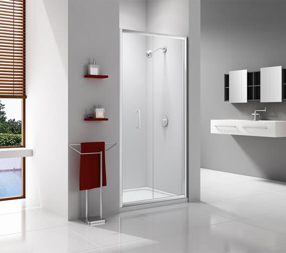 Merlyn Ionic Express 6mm Glass Bi-Fold Shower Door 1900mm Height