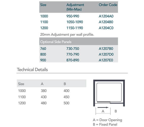 Technical drawing QS-V99523 / A1204A0