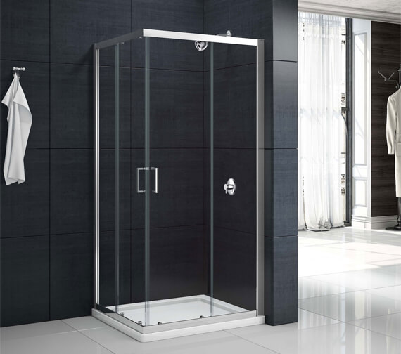 Merlyn Mbox 1900mm Height Corner Entry Shower Enclosure