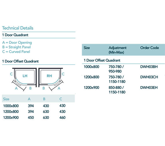 Technical drawing QS-V99019 / DWH03BH