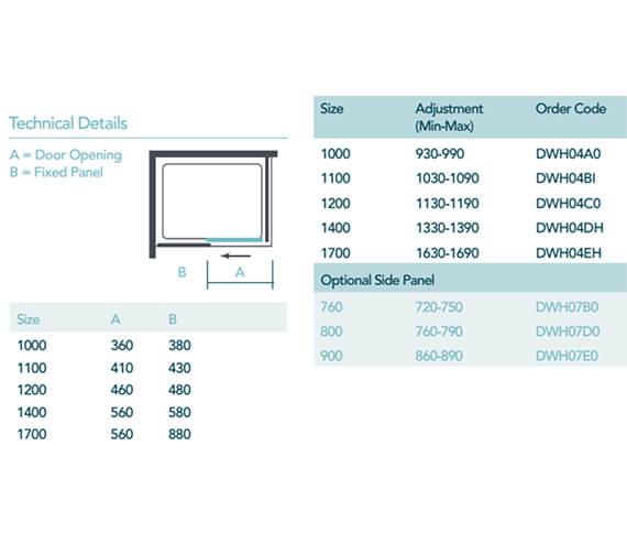 Technical drawing QS-V94134 / DWH04A0