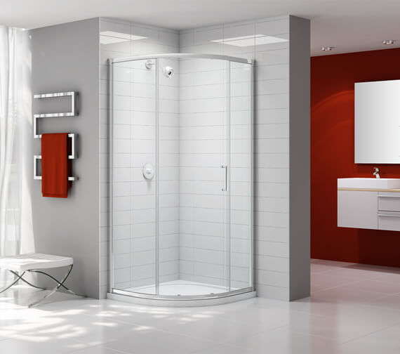 Merlyn Ionic Express 1 Door Quadrant Shower Enclosure 900 x 1900mm
