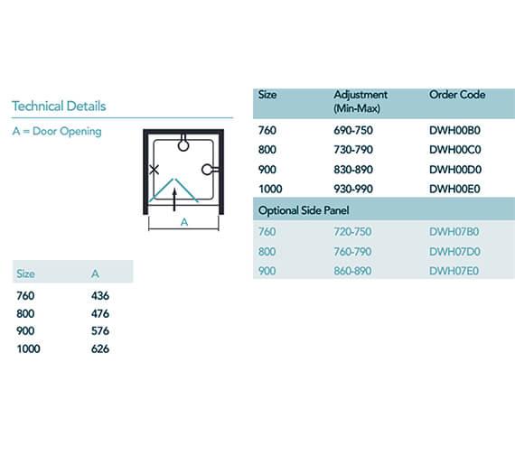 Technical drawing QS-V99018 / DWH00B0