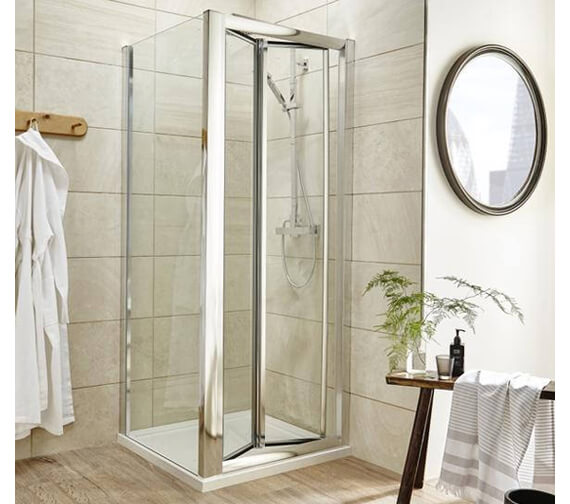 Premier Pacific 700mm Framed Bi Fold Shower Door