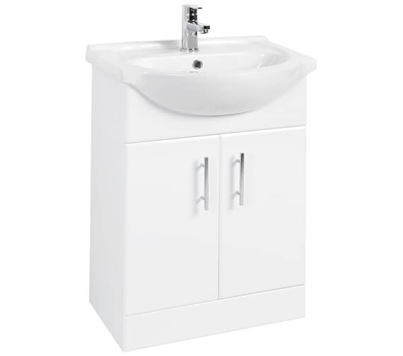 Premier Mayford 550mm Double Door Vanity Unit And Basin