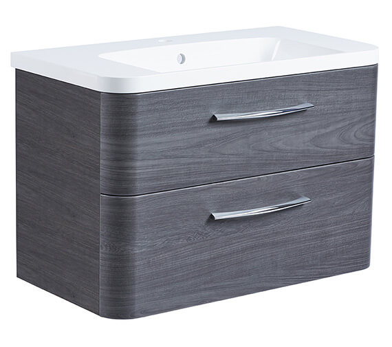 Alternate image of Roper Rhodes System 800mm Wall Mounted 2 Drawer Unit