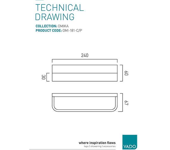 Technical drawing QS-V95346 / OMI-181-C/P