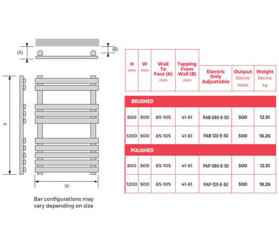 Technical drawing QS-V93102 / PAB-080-E-50