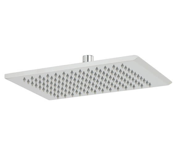 Vado Omika 200 x 300mm Single Function Rectangular Shower Head