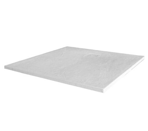 Alternate image of Merlyn TrueStone Square 900 x 900mm Shower Tray With Waste