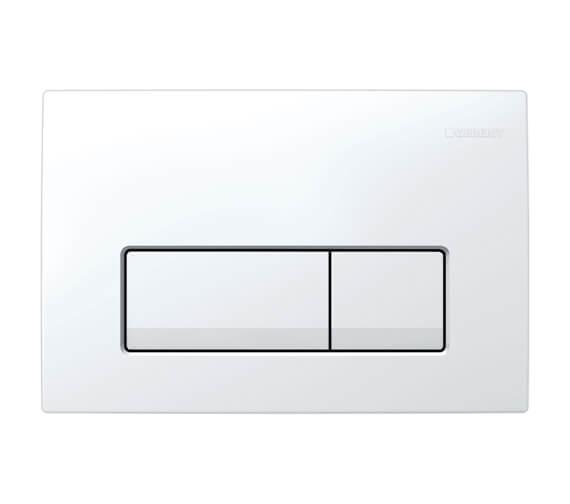 Geberit Delta51 246 x 164mm Dual Flush Plate