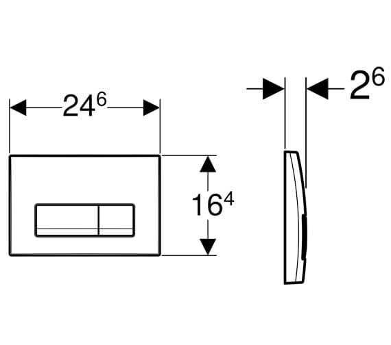 Technical drawing QS-V94556 / 115.105.11.1