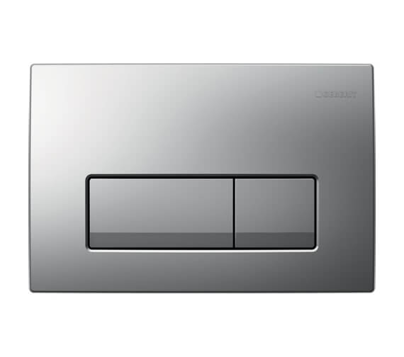 Additional image of Geberit Delta51 246 x 164mm Dual Flush Plate