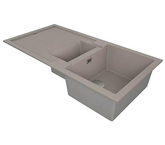 Alternate image of 1810 Company Purquartz Shardduo 150i 1.5 Bowl Sink And Drainer