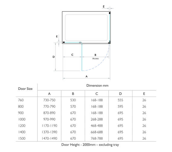 Technical drawing QS-V93706 / P8HC76L