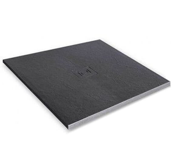 Merlyn TrueStone Square 900 x 900mm Shower Tray With Waste
