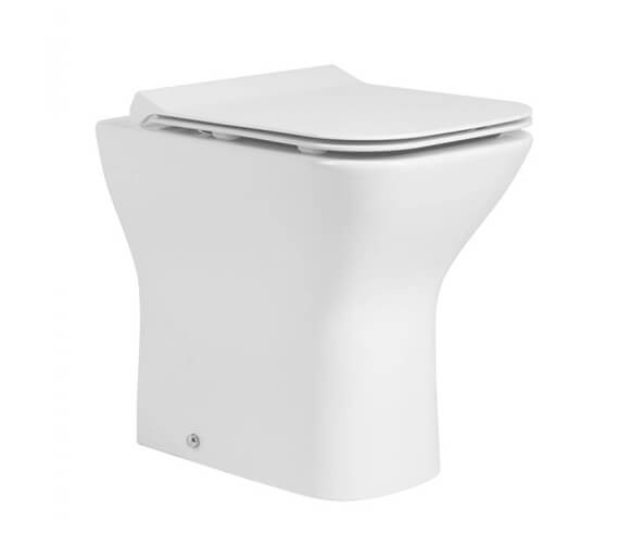 Tavistock Structure Comfort Height Back To Wall WC Pan With Soft Close Seat