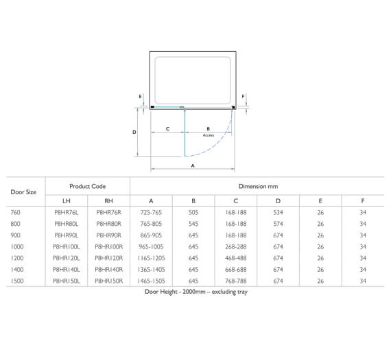Technical drawing QS-V95335 / P8HR76L
