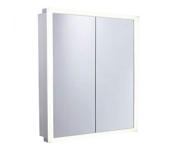 Tavistock Nook 650mm Double Door Mirror Cabinet With Integrated LED Lighting