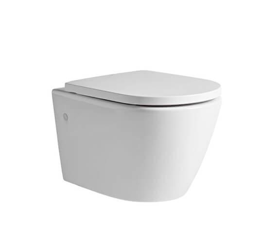 Tavistock Orbit Wall Hung WC Pan With Soft Close Seat