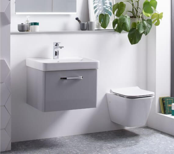 Tavistock Structure Wall Hung WC Pan With Soft Close Seat